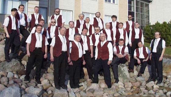Kuoron kokoonpano vuonna 1999